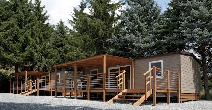 Glamping Case Mobili - Camping Gran Bosco Salbertrand